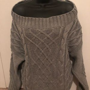 Cute Adora off the shoulder sweater, nwot szL